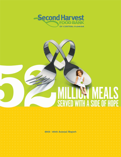 52 Milion Meals served with a side of hope