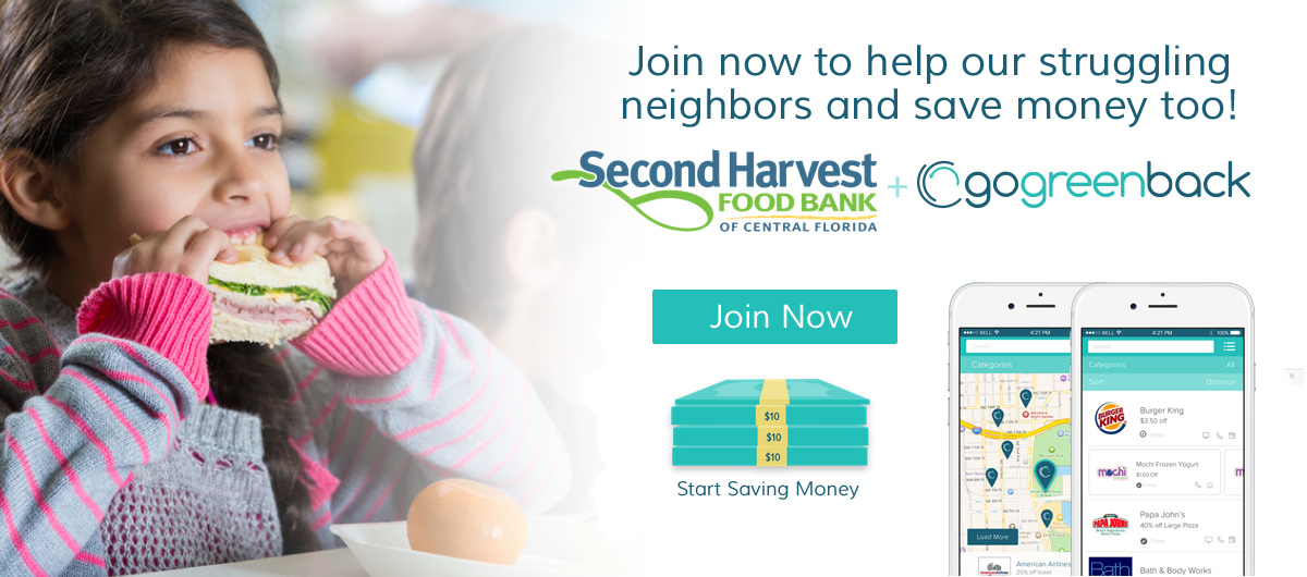 Sign up now to help our struggling neighbors and save money too