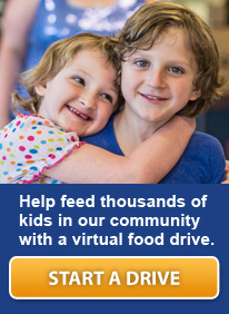 Help feed thousands of kids in our community with a virtual food drive