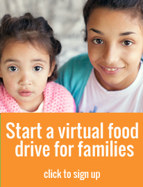 Start a virtual food drive for families in Central Florida